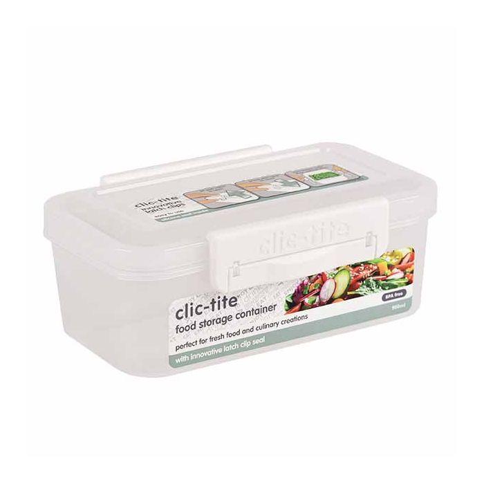 Novo Clic-Tite Food Storer 1.1L 1